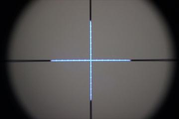 OPTICS SPIKEタクティカルショートスコープ1.5-4.0倍_BLUE