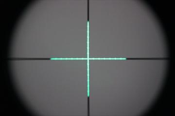 OPTICS SPIKEタクティカルショートスコープ1.5-4.0倍_GREEN