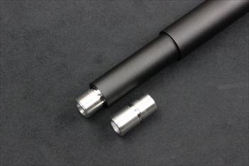ORGA 東京マルイ M4MWS用 10.5inchアウターバレル シルバー