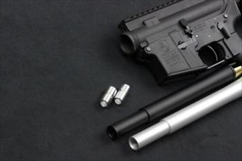 ORGA 東京マルイ M4MWS用 10.5inchアウターバレル ブラック