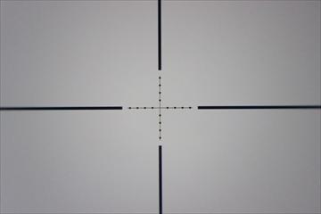 OUTLINE_OPTICS Tactical Short ScopeCL1-0253_Reticle