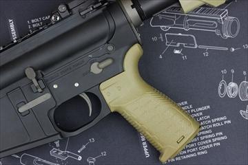 OUTLINE マッドブル Strike Industries M4 EPG グリップ FDE GBB用
