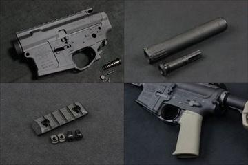 PTS製品、MEGA ARMS レシーバーセット、AAC SPR、ERS MLOKパネル他、入荷しました!