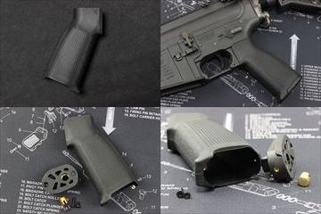 PTS EPG-C M4 グリップ BK 電動ガン用