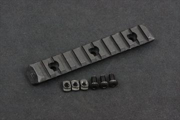 PTS ERS M-LOK用 レールパネル BK - 11slots -
