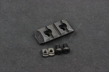 PTS ERS M-LOK用 レールパネル BK - 3slots -