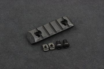PTS ERS M-LOK用 レールパネル BK - 5slots -
