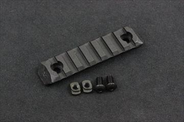 PTS ERS M-LOK用 レールパネル BK - 7slots -