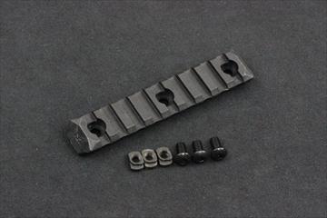PTS ERS M-LOK用 レールパネル BK - 9slots -