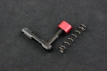 Strike Industries アルミニウム製 マガジンキャッチ RED For WE GBB