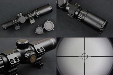 TRUGLO トゥルーブライト 1-4×24mm ショートスコープ