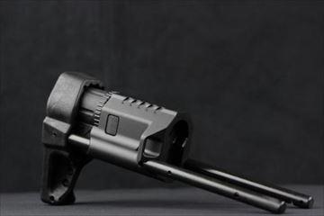VFC QRSスライドストックBK 電動ガン用 スチール製