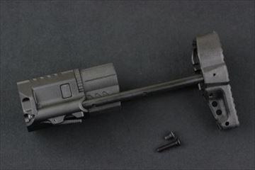 VFC QRSスライドストック BK 電動ガン用 スチール製