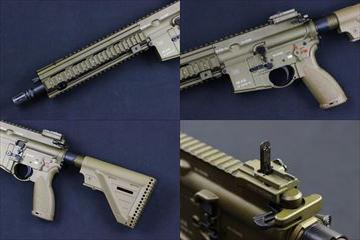 VFC Umarex HK416A5 GBBR_JPver.HK Licensed_TAN ガスブロ