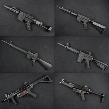 WE製ガスブロ本体 M16A3、MP5シリーズ23種類、R5シリーズ2種類、XM177他、入荷しました!