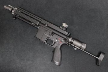 WE ガスガン HK416C NPAS導入済み ブローバック