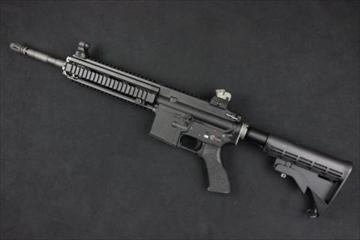 WE ガスガン HK416D NPAS導入済み ブローバック