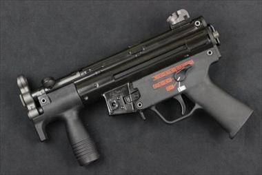 WE ガスガン MP5K APACHE GBB NPAS導入済み
