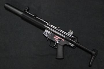WE ガスガン MP5SD3 GBB NPAS導入済み ガスブローバック