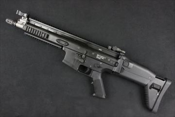 WE ガスガン SCAR L BK NPAS導入済み ブローバック