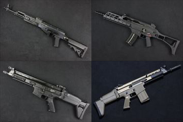 WE ガスブロ本体 AK PMC、G36RAS、SCAR シリーズ 、他GBBマガジン入荷しました!