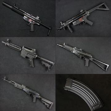 WE ガスブロ本体 M4CQB、AK PMC、AK74UN、MP5SD3、MP5K PDW 入荷しました!