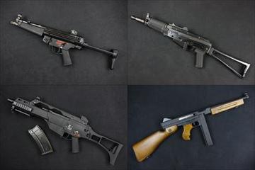 WE ガスブロ本体 MP5A2、MP5A3、G36C、AK74UN、トンプソンM1A1 入荷!