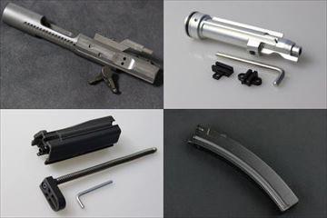 WE MP5用ガスブロマガジン、RA-TECHより NPASノズルセット、ボルトキャリア他、入荷しました!