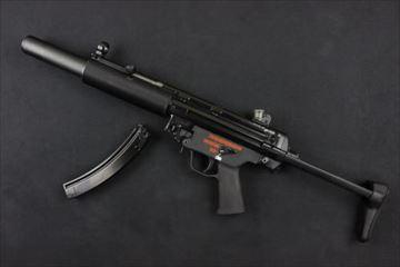 WE MP5SD3 GBB NPAS導入済み ガスブローバック