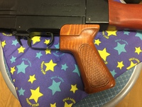 64式小銃用薄型握把開発計画②