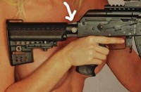 VLTOR AK用ストックパイプ