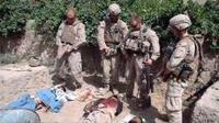 米海兵隊員、射殺したテロリストの遺体に放尿(゜゜;)