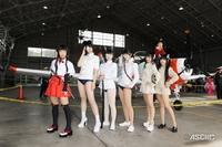 海自小月航空祭でコスプレイベント開催される(^.^)