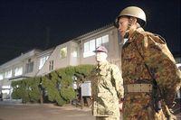 朝鮮半島情勢、防人の島は警戒体制