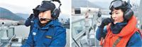 韓国海軍、初の女性海上指揮官誕生(^-^)