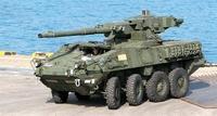 ストライカー装甲車、韓国でお披露目