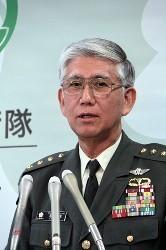東北大震災の元自衛隊統合任務部隊司令 君塚陸上幕僚長退任