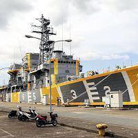 退役護衛艦「はまゆき」、最後の任務は(T_T)