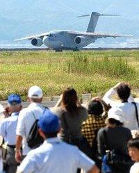 空自次期輸送機、騒音検証