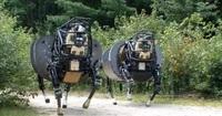 米国防省が開発中の四足歩行型軍用ロボット最新動画