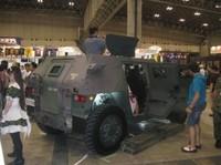 キャラホビ2012会場で自衛官募集広報実施