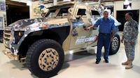 米陸軍最新輸送車FEDは、低燃費(((・・;)