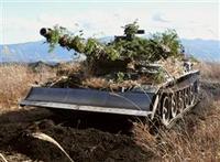 戦車による瓦礫除去にマッタ!
