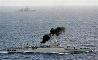 中国海軍の無人機を確認(゜ロ゜;