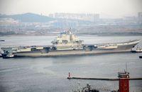 中国空母、航空機離着艦訓練実施か?
