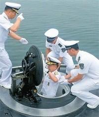 横須賀で潜水艦会議。