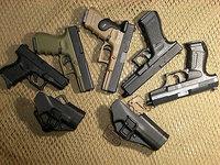 Glock用CQCホルスター装着実験