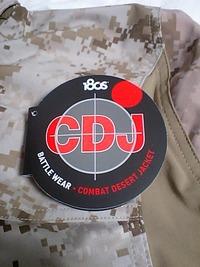 米海兵隊 COMBAT DESERT JACKET
