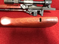 M1D/M1Cスナイパーライフルを作る その7 ストック加工 チークパッド取り付け加工