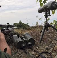 M49スポッティングスコープ/M51バイポット/M17A1双眼鏡 スポッター使用 2